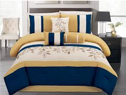 Bahama Bed Set by Summer Bahama Paradise Emboridery Comforter Set Queen Yellow