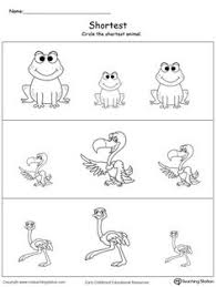 long and short help teach children the concept of length long and
