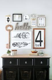 Kitchen Wall Decorating Ideas Pinterest Black Decor Back In Black Home Decorating Ideas Adorable Home