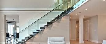 devision of artlook glass glass stair railings