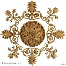 furniture appliques 200 circular rosettes for custom projects