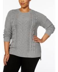 plus size cable knit sweater deals on ny collection plus size cable knit sweater