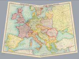 Map Of Europe 1920 by Composite Europe Communications David Rumsey Historical Map