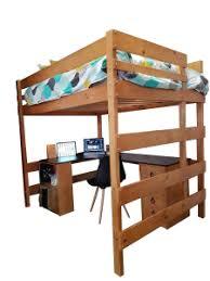Double Loft Bed With Special Combination Large Corner Desk - Double loft bunk beds