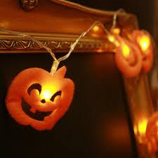 Pumpkin Halloween Lights Impressive Display Of Helloween Pumpkin String Lights House