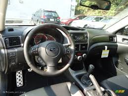 impreza subaru 2013 wrx carbon black interior 2013 subaru impreza wrx premium 5 door