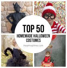 Boy Homemade Halloween Costumes 50 Homemade Halloween Costumes Heart Nap