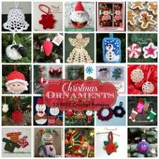 30 free crochet ornaments patterns to decorate