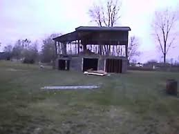 Barn Demolition Detroit Clean Out Barn Demolition Youtube
