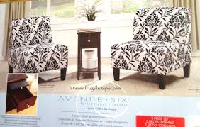 accent table and chairs set costco avenue six 3 pc chair accent table set 249 99 frugal