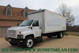 hd video 2005 gmc c7500 24ft box truck for sale see www