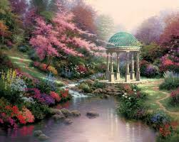 garden of eden flower shop the garden of prayer the thomas kinkade company