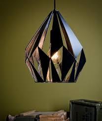 Laser Cut Lamp Shade Uk by Retro Black Laser Cut Pendant