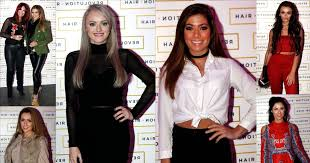 pattison hair extensions look glam at the launch of i m a