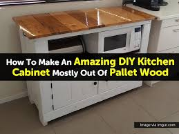 How To Make Kitchen Cabinets by Pallet Kitchen Cabinet Via Imgur Com 1 1024x768 Jpg