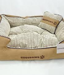 Medium Sized Dog Beds Luxury Checked Dog Bed Super Soft Medium Sized Dog Bed Cosy Paws