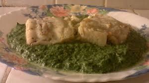 cuisiner du colin recette colin et ses épinards à la crème poisson cuisine vins