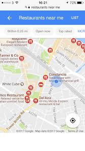 map of restaurants near me near me the rise of location based searches