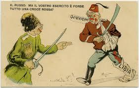impero ottomano prima guerra mondiale satira russia e impero ottomano