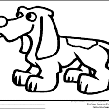 dog coloring pages printable basset hound coloring page sheet