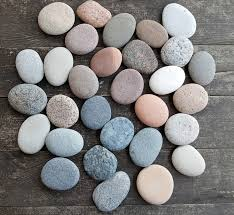 wishing stones wedding 30 large flatt rocks flat sea stones wedding stones