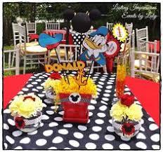 mickey mouse carnival birthday invitation chrispixscreations
