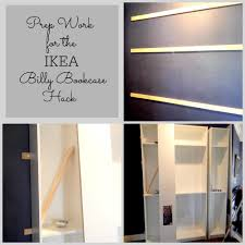 Ikea Bookcase Ladder by Ikea Billy Bookcase Hack Stylish Revamp
