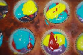 tie dye cupcakes everyday parties