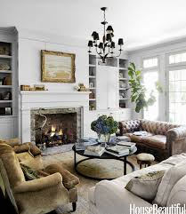 A Nashville House With An Old Soul Chesterfield Sofa - Chesterfield sofa and chairs