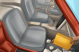 Baking Soda Upholstery Cleaner How To Get Rid Of Bad Smells In Your Car Yourmechanic Advice