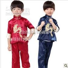 2018 boys clothing sets clothes children costumes kung fu