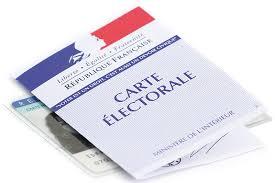 image bureau de vote nouvelles cartes électorales avec indicateur de bureau de vote