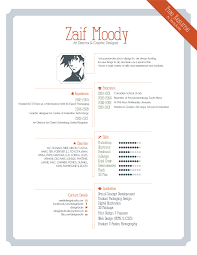 graphic design resume template 15 8 creative and appropriate