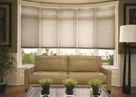 Drapes For Living Room Windows Bay Window Coverings Treatments For Bay Windows Budget Blinds