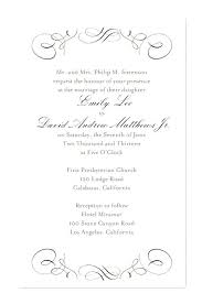wedding invitation wording luxury wedding invitation wording for ecru invitation with