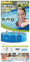 Intex Metal Frame Swimming Pools Intex 15 U0027 X 48