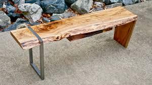 waterfall coffee table wood modern live edge waterfall coffee table part 1 how to build