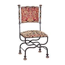 chaises en fer forgé chaise lyre chateau en fer forgé ligne métal