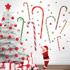 candy canes wall decals wallcandy arts candy canes wall decals