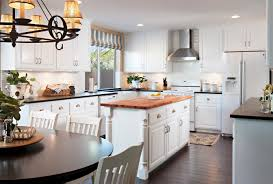 Retro Style Kitchen Cabinets Cool Retro Style Kitchen Design Ideas With White Cabinets And