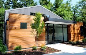 Building Exterior by Granero Office Building Seattle Architects On Bainbridge Island