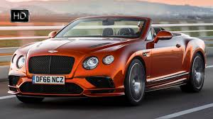 orange bentley 2018 bentley continental gt supersports convertible orange flame