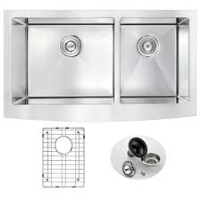 Elkay Crosstown Sink by Elkay Crosstown Farmhouse Apron Front Stainless Steel 35 In