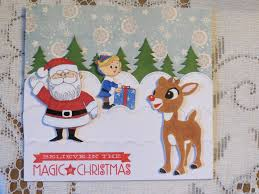 rudolph the nosed reindeer card jeanie be