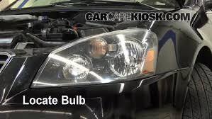 2005 nissan altima oil light reset headlight change 2002 2006 nissan altima 2006 nissan altima se 3 5l v6
