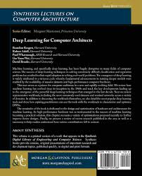 deep learning for computer architects synthesis lectures on