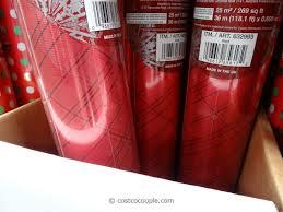 kirkland wrapping paper kirkland signature foil christmas wrap