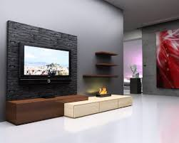 living lcd tv wall unit designs