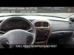 2001 hyundai sonata for sale 2001 hyundai sonata gls 4dr sedan for sale in tacoma wa 984