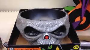 halloween candy bowls morrisons halloween 2014 skull grabber bowl youtube